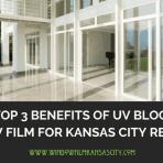 UV blocking window film kansas city
